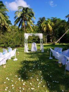 gazebo for wedding decoration in Cuba