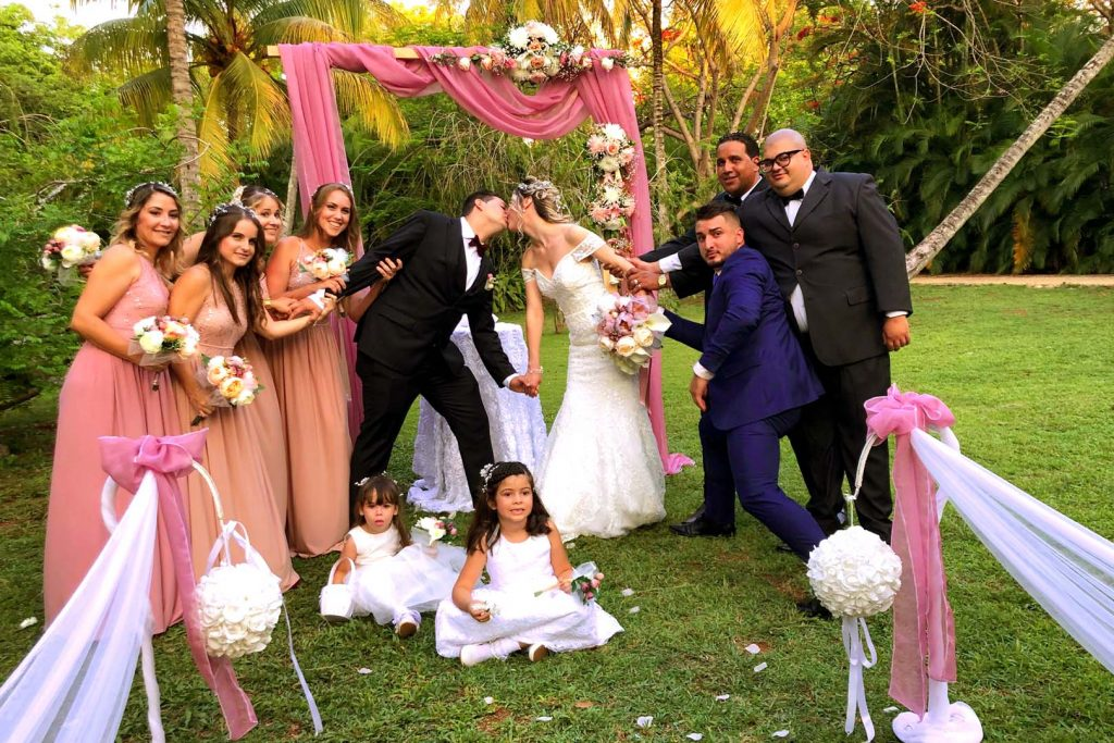Wedding packages in a Havana party house Cuba